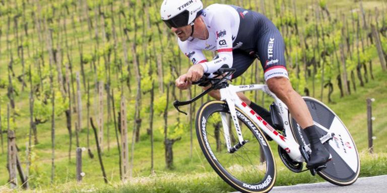 Cancellara eerste leider in Zwitserland