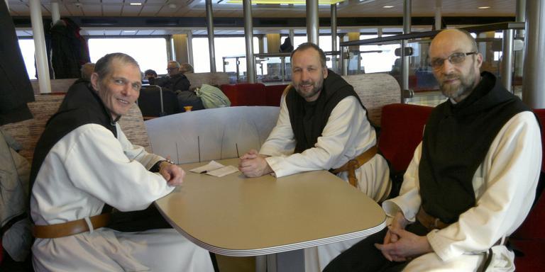 Plek voor klooster monniken Schier