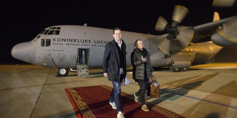 Asscher en Hennis op bezoek in Irak