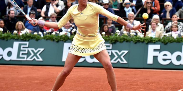 Muguruza stunt met eindzege Roland Garros