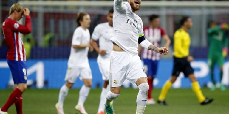 Real Madrid weer de beste in Champions League