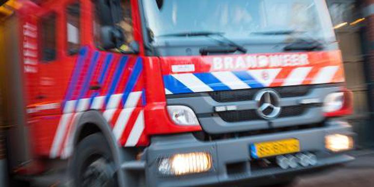 Grote brand verwoest pand op sportpark Alkmaar