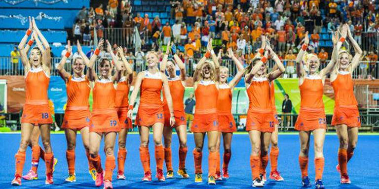 Late zege hockeysters in Rio