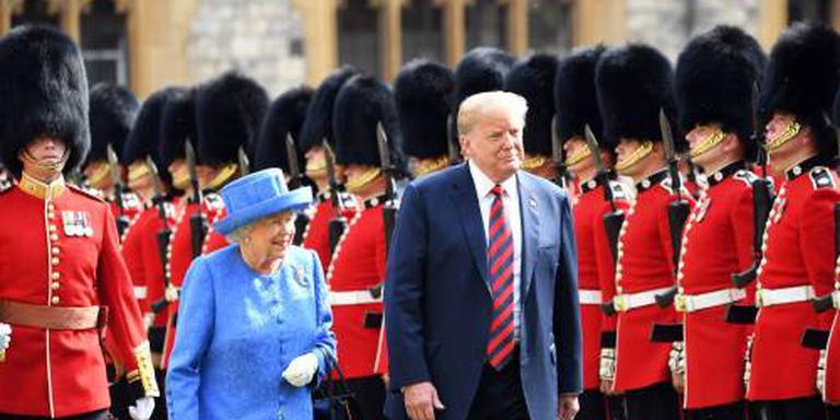 Trump: ik was niet te laat bij Elizabeth