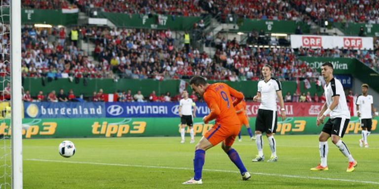 Oranje verslaat ook Oostenrijk