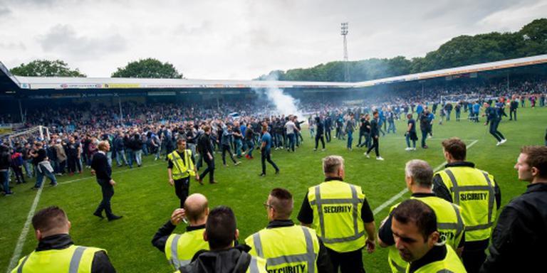 Spelers Go Ahead aangevallen op Vijverberg