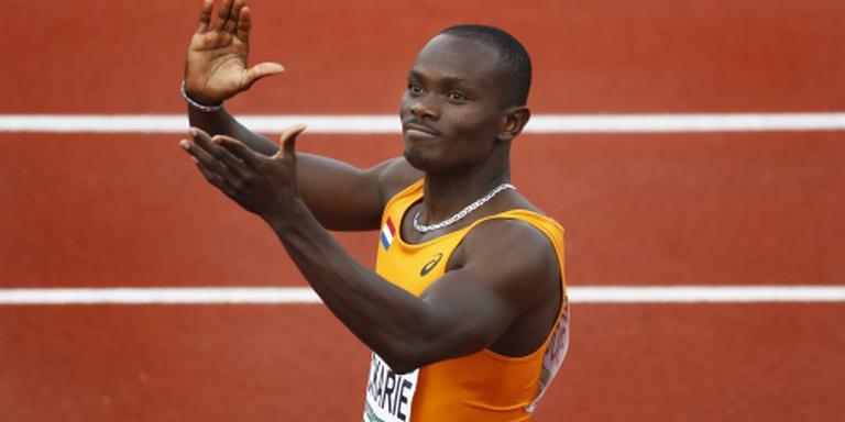 Estafettemannen vierde op 4x100 meter