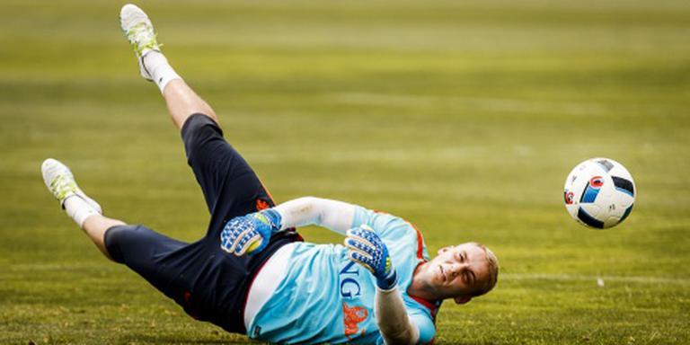 Cillessen traint mee met Ajax