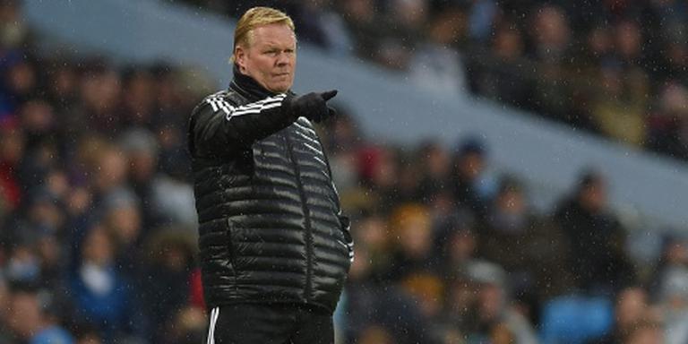 Koeman wint eerste oefenduel met Everton