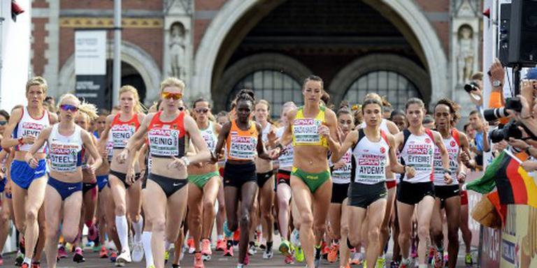 Bijrol Nederlandse vrouwen op halve marathon