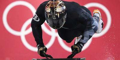 Skeletonner Akwasi Frimpong in achterhoede