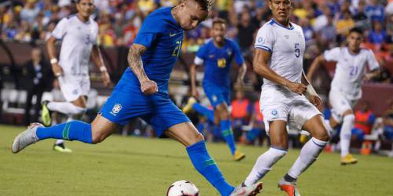 Brazilië veel te sterk voor El Salvador