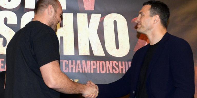Fury zegt wereldtitelduel met Klitsjko af