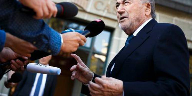 Blatter volgende week naar WK in Rusland