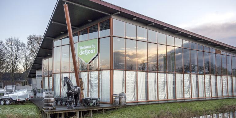 Het bedrijfspand van A. Th. De Boer & Zn in Drachten. FOTO JILMER POSTMA