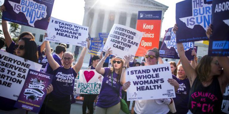 Hof VS schrapt abortuswet Texas