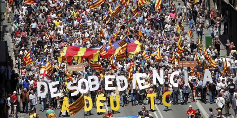 Hof Spanje schrapt Catalaans regeringsplan