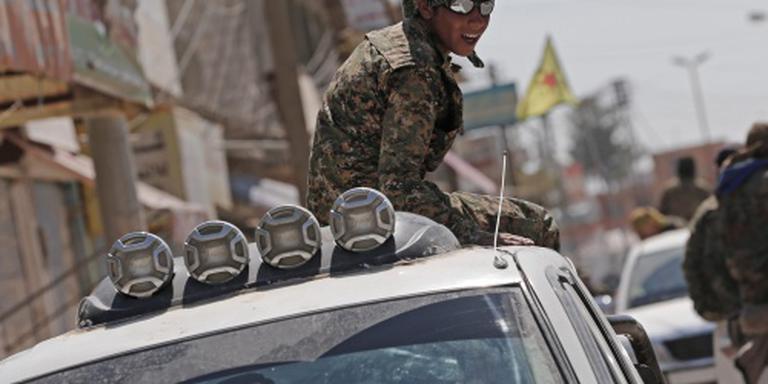 Koerdische aanval op hoofdstad IS