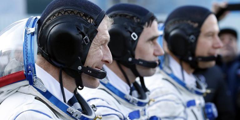 Astronauten aangekomen bij ruimtestation ISS