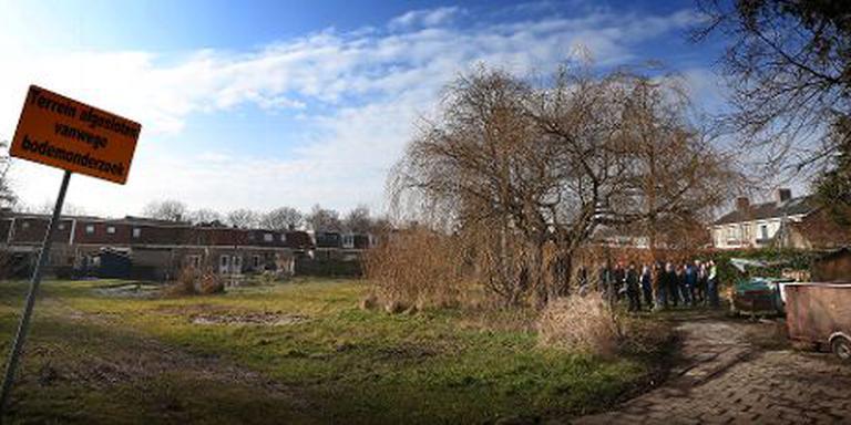 Shared Grien Space: gemeenschappelijk gebruik braakliggende ruimte in Sneek. FOTO LC/Catrinus van der Veen.