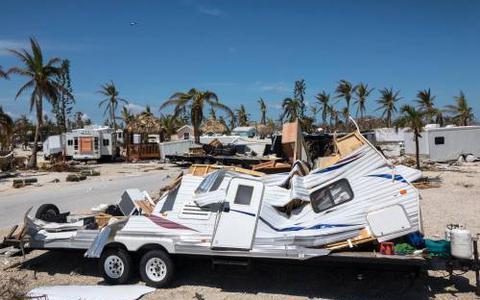 Tropische storm Maria koerst op eilanden af