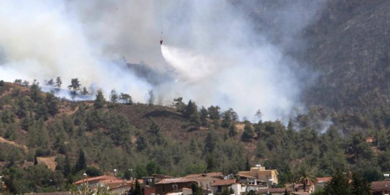 Brandweerlieden omgekomen bij bosbrand Cyprus