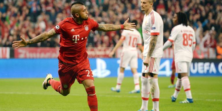 Bayern wint nipt van Benfica
