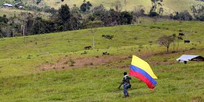 Bende Colombia legt wapens neer tijdens kerst