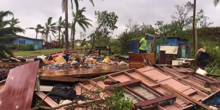 Vijf doden in Fiji door cycloon Winston