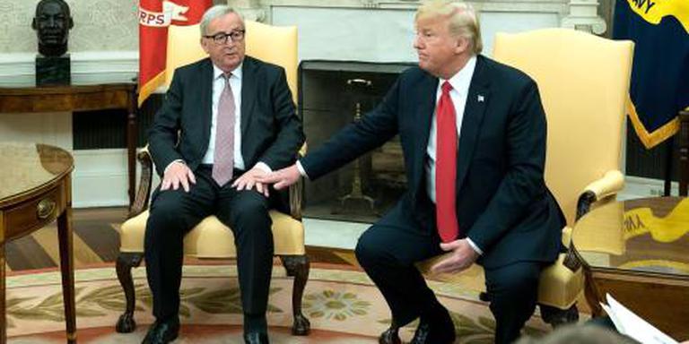 Trump en Juncker geven Wall Street zetje