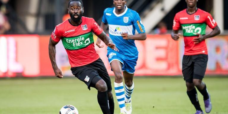 PEC Zwolle verzuimt te winnen van NEC: 1-1