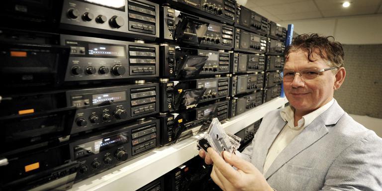 De laatste producent van cassettebandjes