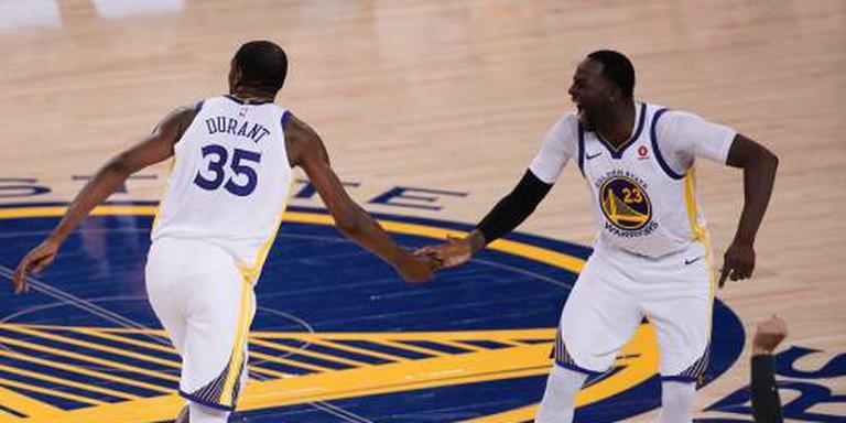 Warriors verliezen ondanks 50 punten Durant