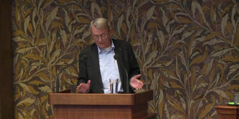 Hendrik ten Hoeve van de Onafhankelijke Senaats Fractie (OSF).