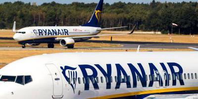 Ryanair schrapt 190 vluchten op vrijdag