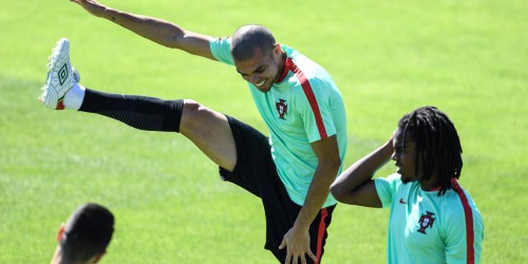 Pepe gaat voluit tijdens laatste training