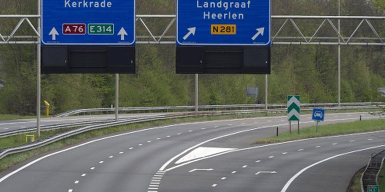 A76 nog afgesloten na ongeval