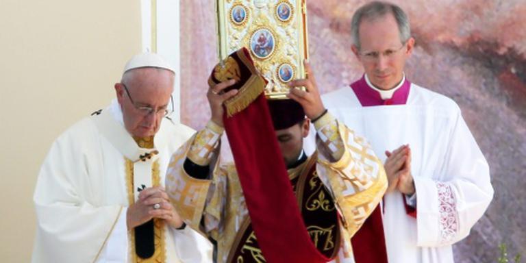 Paus sluit met mis Wereldjongerendagen af