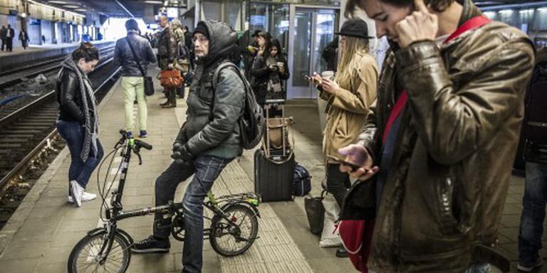 'Vergoeding reiziger die op perron blijft'