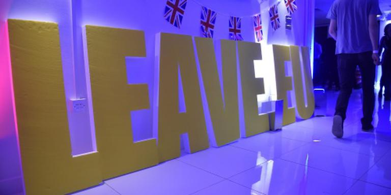 Brexit-kamp presteert beter dan verwacht