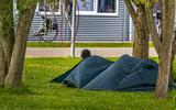 Het azc in Sneek. FOTO NIELS DE VRIES