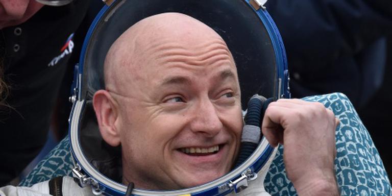 Ruimtevaarder Scott Kelly zwaait af bij NASA