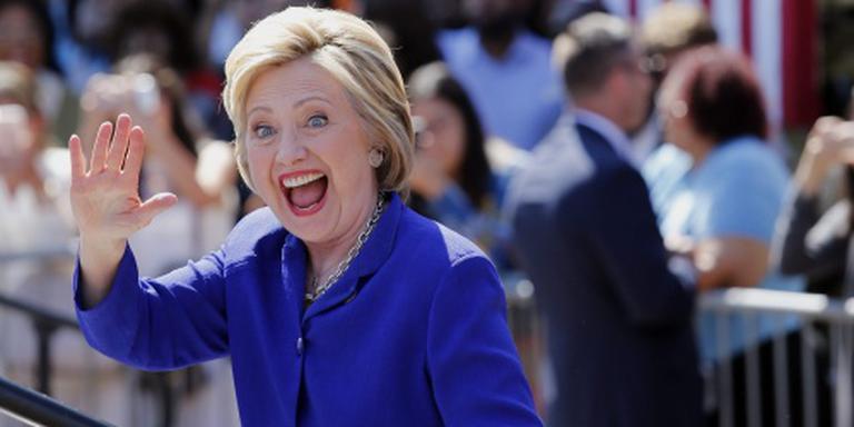 Clinton heeft voldoende gedelegeerden