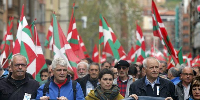 Basken demonstreren voor ETA-gevangenen