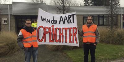 Chauffeurs in actie bij Van der Aart