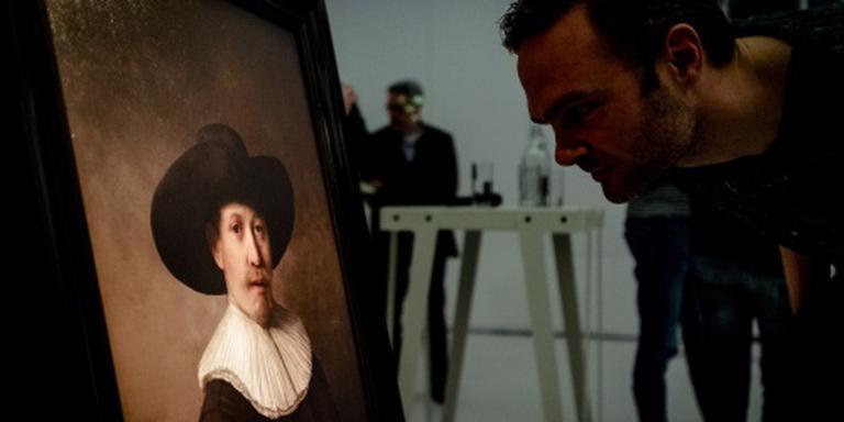 Een nieuwe echte Rembrandt, met 3d en pixels