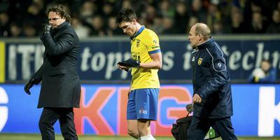 Martijn Barto viel tegen FC Utrecht uit met een oogblessure. FOTO ANP/PROSHOTS