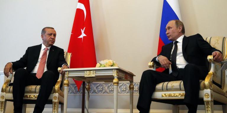 Poetin klaar voor betere relatie met Ankara