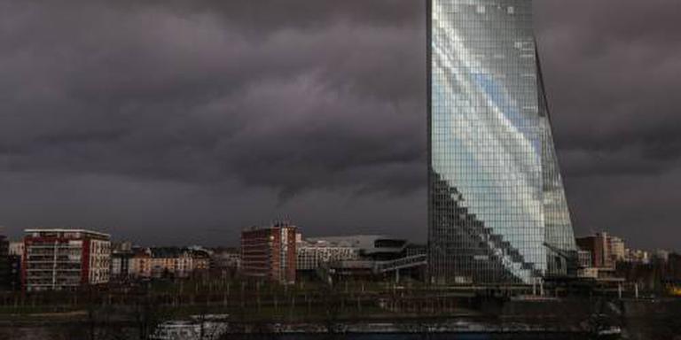 ECB: eurozone sterk genoeg voor afbouw steun
