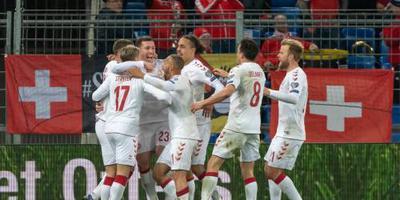 Denemarken komt terug van achterstand van 3-0